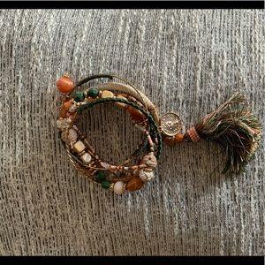 Multi Colored Bangle Bracelet